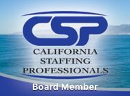 California Staffing Professionals Board Member
